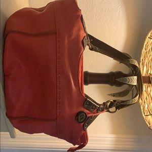 Beautiful leather SAK purse. Perfect for fall!